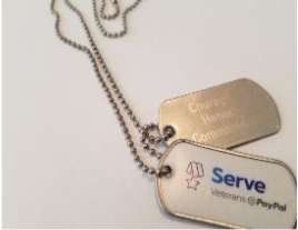 Serve dogtags