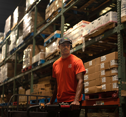 Usfoods warehouseworker